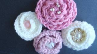 HOW TO CROCHET A COILED FLOWER.