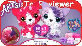 Artsi Make Your Own Best Friend Kitties Art Kit Plush Craft Unboxing Toy Review by TheToyReviewer