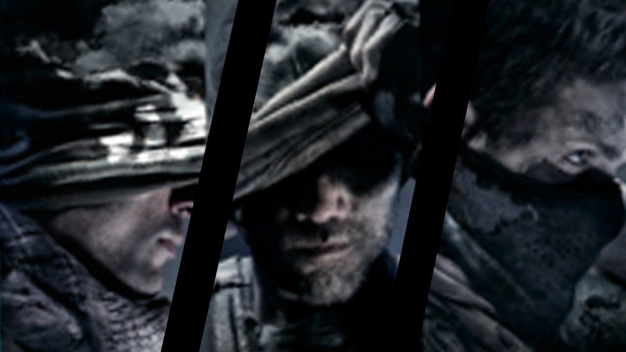 Call of Duty Ghost Character Call of Duty Ghosts