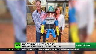 USA Cross-Nation Hitchhiking Robot Murdered by Niggers In Philly (SEE BELOW)