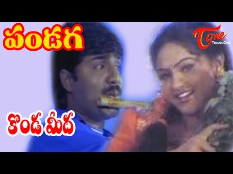 Pandaga Songs - Kondameedha - Raasi - Srikanth video