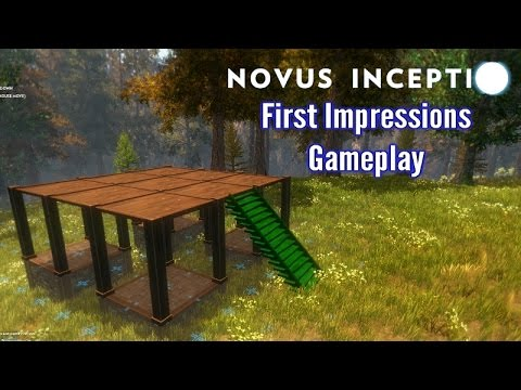 Novus Inceptio [Sandbox Survival game ] | First Impressions | [Affiliate Link]
