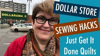 Budget Sewing- Tools & Hacks from the Dollar Store