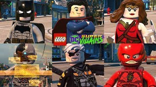 All DC Movie Character Pack Characters Unlocked in LEGO DC Super Villains (Justice League Movie)