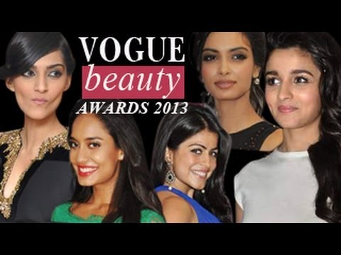 Vogue Beauty Awards 2013 with Taki Sawant