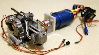 Power station for RC hybrid vehicle (First run)