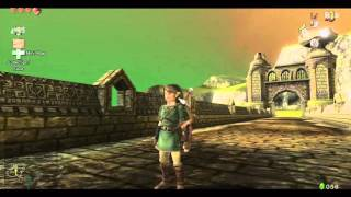 The Legend of Zelda Twilight Princess HD Glitch - Lanayru Gate Clip! (Lake Hylia Early)