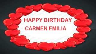 Carmen Emilia   Birthday Postcards & Postales - Happy Birthday