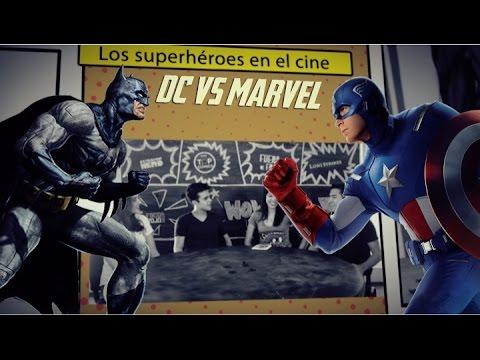 DC vs Marvel en el cine #VengadoresUnidos Fase 1