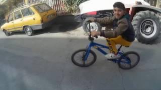 Yeni bisiklet aldım (kardeşime BMX)
