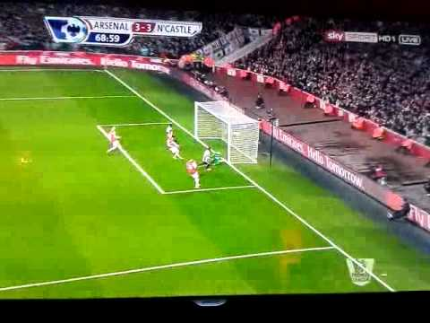 Full HD Highlights Arsenal 7:3 Newcastle All Goals Theo Walcott Show