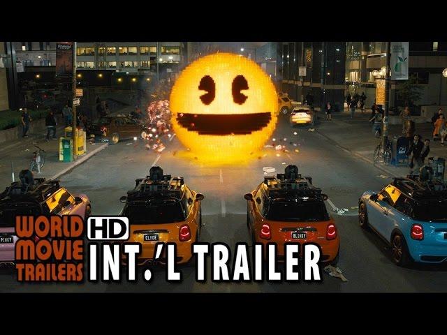 Pixels Official International Trailer #2 (2015) - Adam Sandler HD