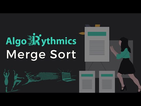 Merge-sort with Transylvanian-saxon (German) folk dance