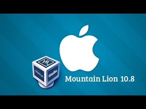 How To Install Mac OS X Mountain Lion 10.8 On Virtual Box & Fixing Boot