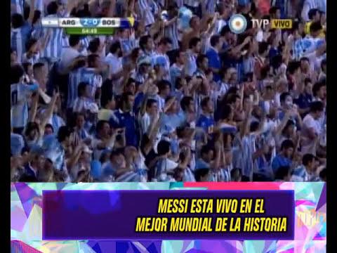 DURO ES MUNDIAL - ARGENTINA vs BOSNIA - 16-0614