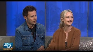 Ante Up For a CFG Honoring Mike Dirnt & Brittney Cade on Good Day LA Fox 11 09 06 18