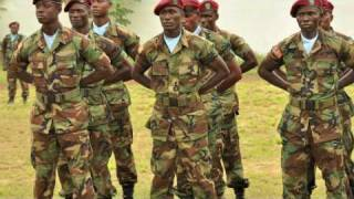 General Ward Addresses Armed Forces of Liberia Soldiers #AFRICOM