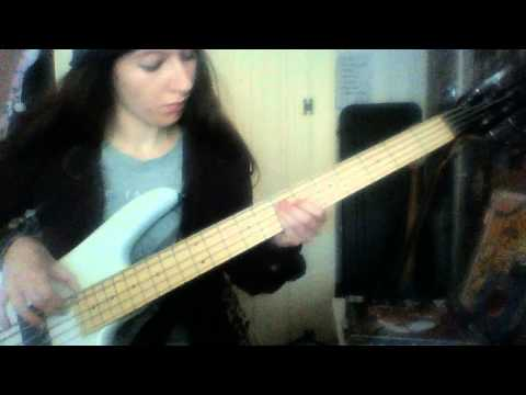 Away - Devin Townsend (Bass Cover)
