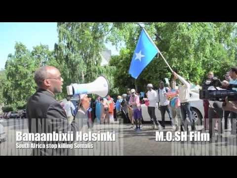 STOP KILLING SOMALIS in South Africa           M.O.SH Film