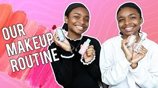 Our Makeup Routine | Deja and Di-V