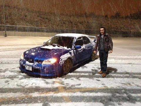Harun Taştan Snow Drift Jet Subaru (12.12.2013)
