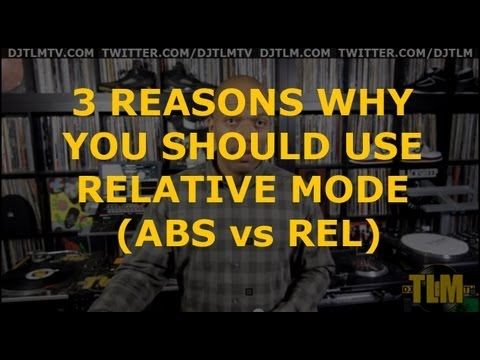 3 reasons why you should use relative mode (ABS vs REL)