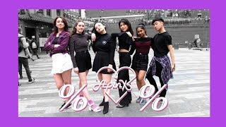 [AZIZA] K-POP IN PUBLIC LONDON | APINK (에이핑크) - %% (Eung Eung(응응)) dance cover
