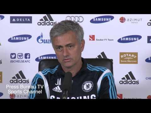 Jose Mourinho pre Chelsea vs Manchester United