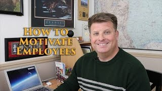 Employee Motivation - How to Motivate Employees
