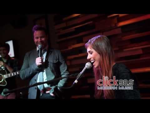 Click 98.9 Acoustic Lounge: Christina Perri video