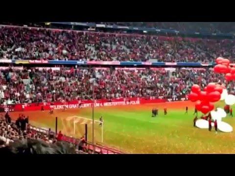 14.05.2016 - FC Bayern München Meisterfeier LIVE aus der Allianz Arena 1/2