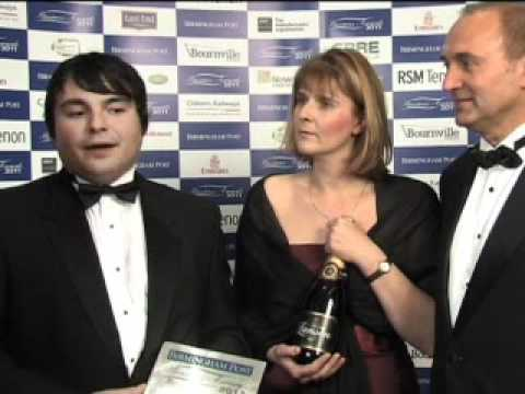 Alumet / EOS Energy - Birmingham Post Business Awards 2011
