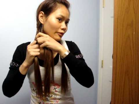 hair tutorial fish tail braid!!!!!!! 3:55. this is how i make my fish tail