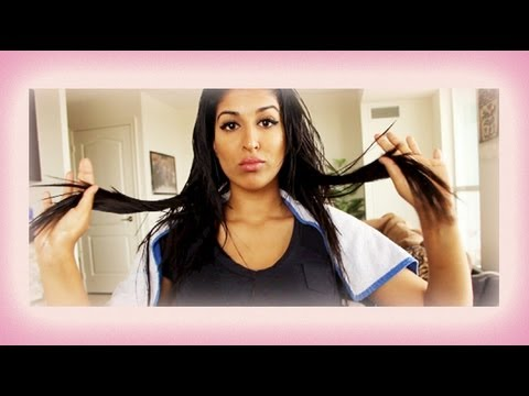 DIY Hot Oil Treatment - How to Make your Hair Grow Faster and Healthier