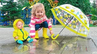 Rain, Rain, Go Away Song for Babies / Video for Children