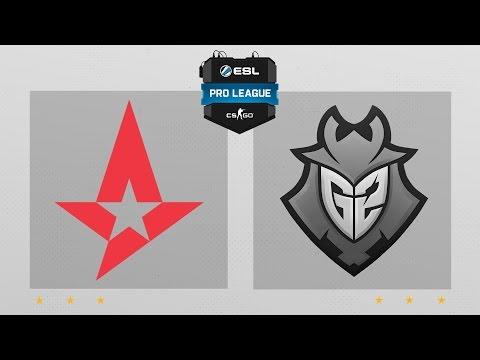 CS:GO - Astralis vs. G2 [Dust2] Map 2 - ESL Pro League Season 4 - EU Matchday 26