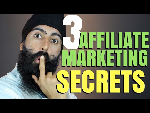Affiliate Marketing For Beginners - 3 Affiliate Marketing Secrets -Make Money W/ Affiliate Marketing