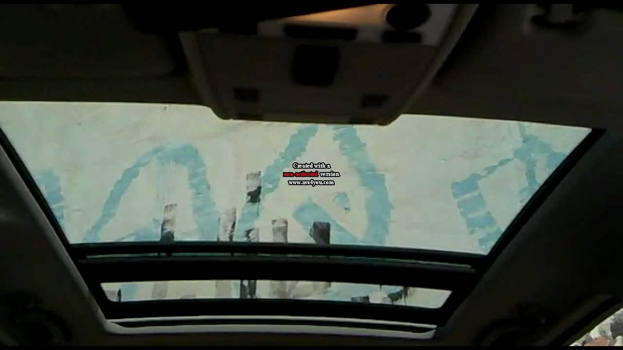 E91 Panorama Sunroof Youtube