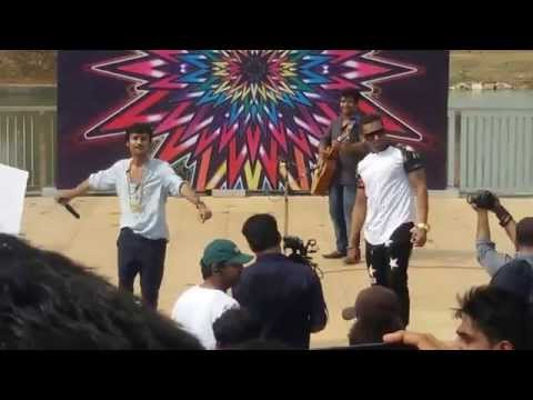 Honey Singh At Amity University Jaipur And Mohit Bhai On Chaudhary :) video