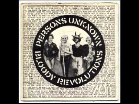 Poison Girls - Persons Unknown