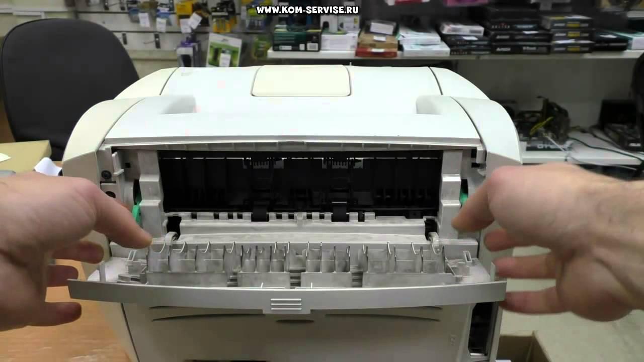 Что делать если произошло замятие бумаги в принтере canon