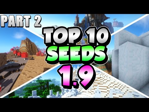 Top 10 Seeds in Minecraft 1.10 - WORLD'S BIGGEST MOUNTAIN. 10+ IGLOOS & MORE! (Part 2)
