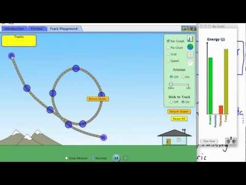 Work, Energy, Power - energy conservation (1/3) - (IB Physics, AP, GCSE, A level)