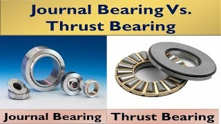 All you need to know about Bearings Journal &Thrust Bearings