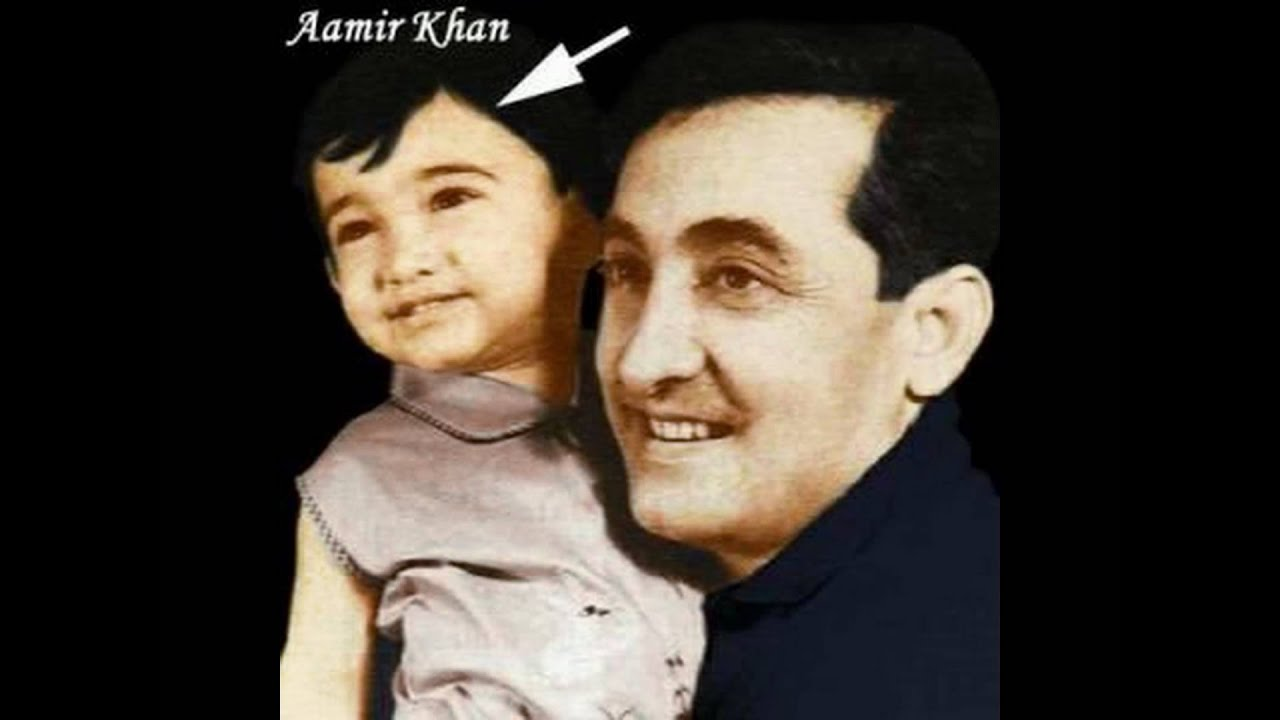 Aamir Khan Childhood Pictures - YouTube
