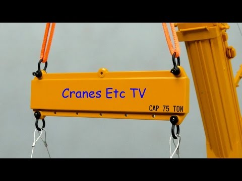 Weiss Brothers Lifting Kit with Spreader Beams by Cranes Etc TV