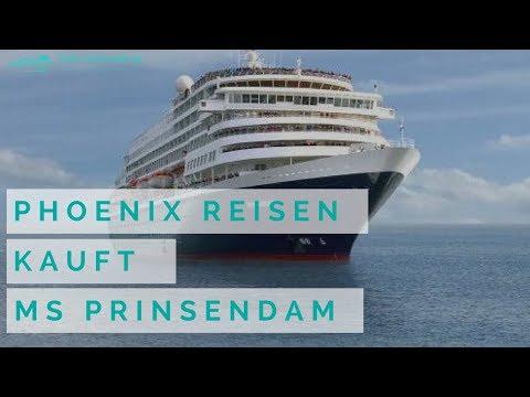 MS Amera: Phoenix Reisen hat MS Prinsendam von Holland America Line gekauft