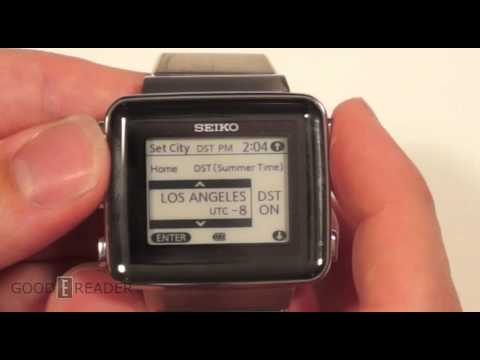 SEIKO Spirit SBPA003 e-Ink Watch Review