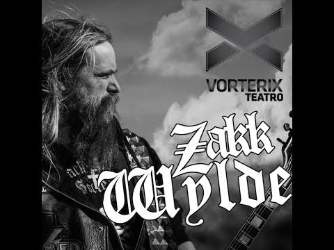 Zakk Wylde Entrevista Radio Vorterix + Set Acústico - Argentina 2015 (Audio)