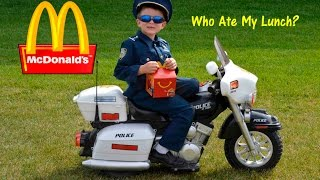 KIDZ MOTORZ Police Motorcycle Kid Cops Little Heroes Who Ate My Lunch Video Parody